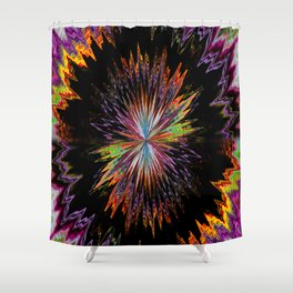 Abstract Perfection 10 Shower Curtain