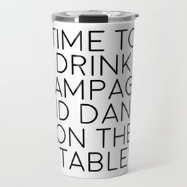 Party Decorations Chamapage Gift Party Like Gatsby Birthday Decorations Bar Decor Quotes Champagne Travel Mug
