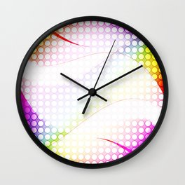 abstract colorful tamplate Wall Clock