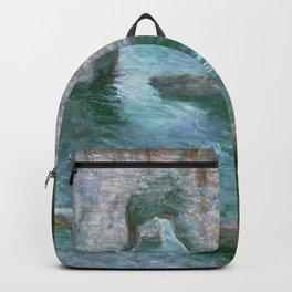 Claude Monet, French, 1840-1926 Manne-Porte, Etretat Backpack