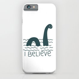 Loch Ness Monster iPhone Case
