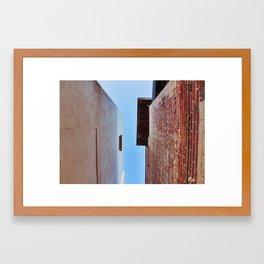 The In-between  Framed Art Print