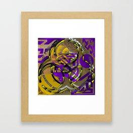 monstrous mental fear Framed Art Print