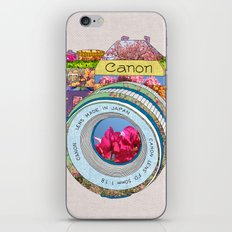 FLORAL CAN0N iPhone & iPod Skin