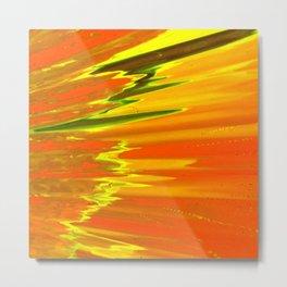 Surface Of The Sun Metal Print