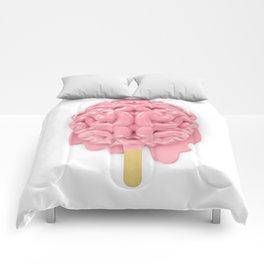 Popsicle brain melting Comforters