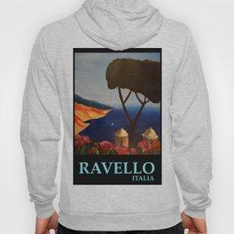 Ravello Salerno Italy View Of Amalfi Coast From Villa Rufolo Hoody