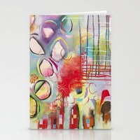 climbing Stationery Cards featuring Climbing by Belinda Fireman