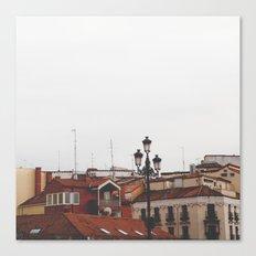 Calle Mayor Canvas Print