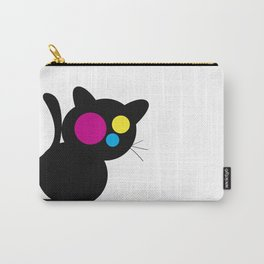 CMJN Cat Carry-All Pouch