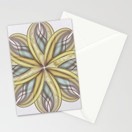 GS Geometric Abstrac 08A1V Stationery Cards