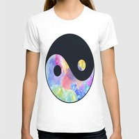 ying yang T-shirts featuring Ying Yang by Johnny Rockets