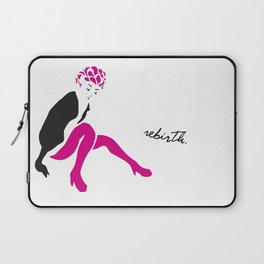 STAND UP WHEN YOU FALL Laptop Sleeve