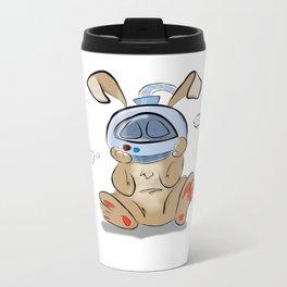 Spacebunny Metal Travel Mug