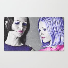 Supermodels: Then and Now Canvas Print