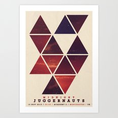Midnight Juggernauts Art Print