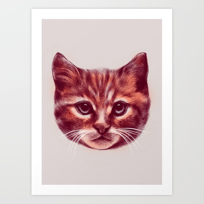 Everybody wants to be a Cat Art Print