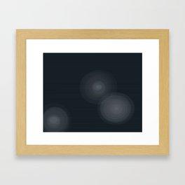 Star Beams Framed Art Print