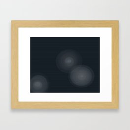 Star Beams Framed Art Print