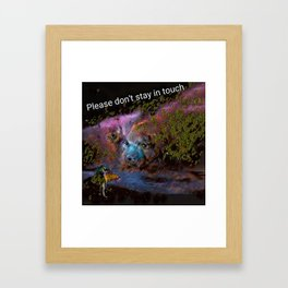 Insanity Cargan Framed Art Print