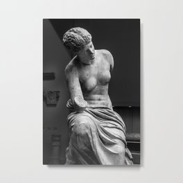Woman Sculpture  Metal Print