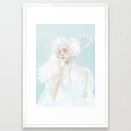 Whisper from the wind Framed Art Print