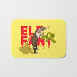 Elefant...or Elephant? Bath Mat