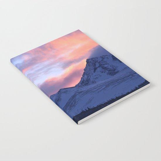 Rose Serenity Sunrise - II Notebook
