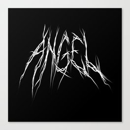 Hell of an Angel Canvas Print