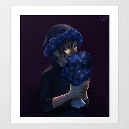 Sylleblossoms Art Print