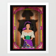 Shadow Collection, Series 1 - Fool Art Print