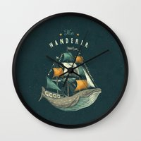 poster Wall Clocks featuring Whale | Petrol Grey by Seaside Spirit