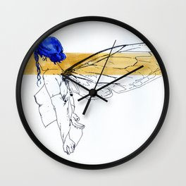 NUDEGRAFIA - 49 FLY Wall Clock
