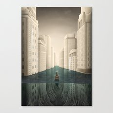 Revenge of the Nature XIV: To the Shrine/Water Kingdom Canvas Print