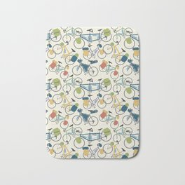 Touring Bicycles Bath Mat