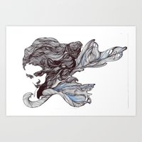 wings Art Prints featuring Wings by Ilariabp.art