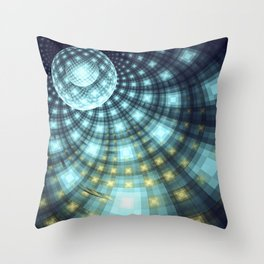 On the Dance Floor Throw Pillow