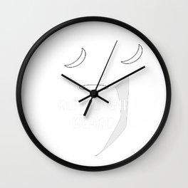 Retirement This is My Retirement Beard  Retired Beard Gift Wall Clock