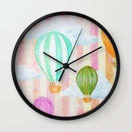 Balões Wall Clock