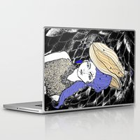 hats Laptop & iPad Skins featuring Hats by Madame Mim