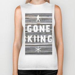 Gone Skiing! Biker Tank