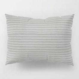 Smooth Gray Concrete Stone Horizontal Line Industrial Texture Pillow Sham