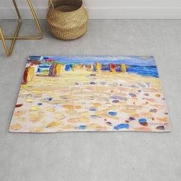 Wassily Kandinsky - Holland Beach Chairs Rug