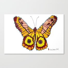 Manipura Butterfly 1 Canvas Print