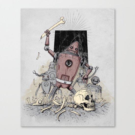 The Dusk of Man Canvas Print