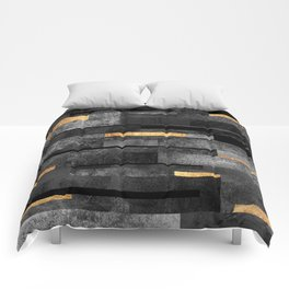 Urban Black & Gold Comforters