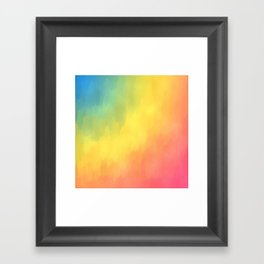 Watercolors Fun Framed Art Print