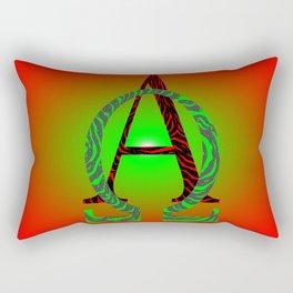 Start-End Rectangular Pillow
