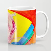 jem Mugs featuring Jem and the Holograms by Megan Mars