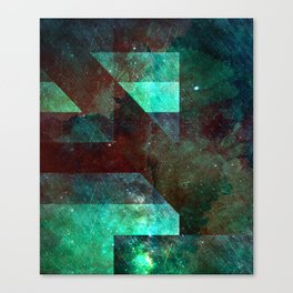 Emerald Nebulæ Canvas Print